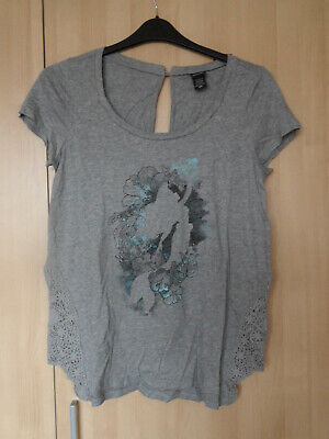 Disney The Little Mermaid Lace Floral Tee Top New Med Disney / Hot Topic 12-14
