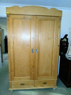 FRENCH PINE LATE 19 th CENTURY WARDROBE