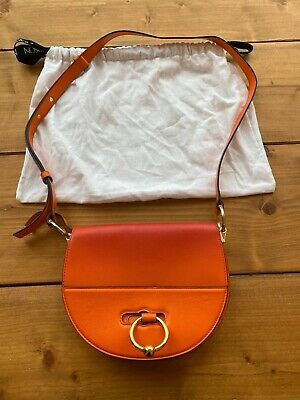 JW Anderson Pierce Bag Orange Gold Hardware