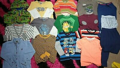 Lovely Bundle Of 16 clothes, waterpr for 3-4y boys from Next, Pumpkin Patch, H&M
