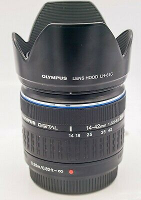 Olympus Zuiko Digital 14-42mm F3.5-5.6 EVOLT 4/3 Mount SLR Camera Zoom Lens