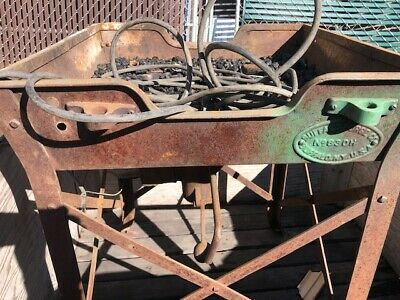 Antique Buffalo Forge Co  Usa Blacksmith #830H Forge Blower And Coal Forge