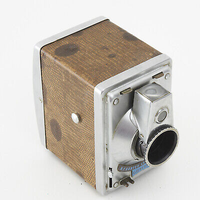 VINTAGE HUNTER GILBERT BOX CAMERA BRITISH MADE By R F HUNTER LTD LONDON c1953