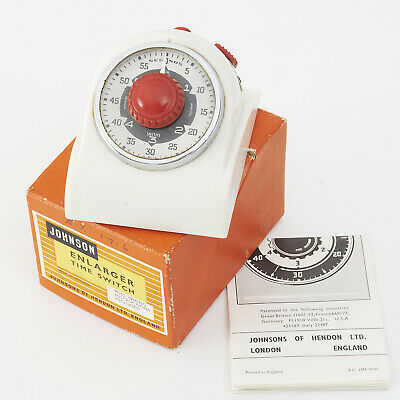 Johnson Enlarger Time Switch In Original Box