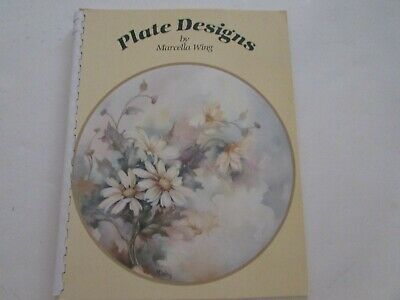Plate Designs China Painting Books by Marcella Wing