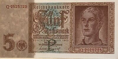 Germany 1942, 5 Reichsmark (Hitler Youth) Uncirculated