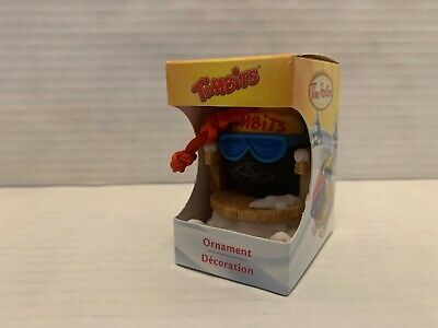 Tim Hortons Skiing Timbit 2012 Christmas Ornament New In Box