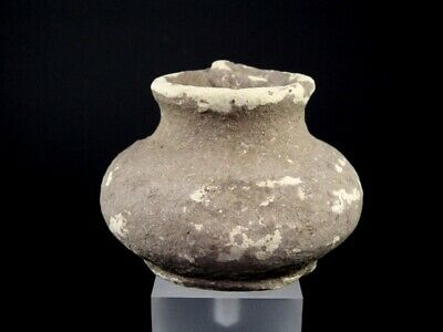 Absolutely Genuine Early Roman Period Compact Terracotta Pot+++