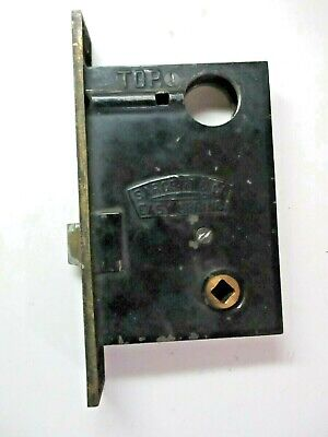 Sargent Easy Spring Double Push Pin Left Hand Bare Mortise Lock Antique See Cond