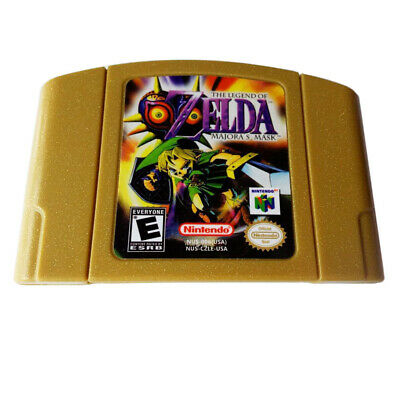 Zelda The LEGEND OF MAJORA'S MASK for Nintendo 64 N64 Game Card US Version