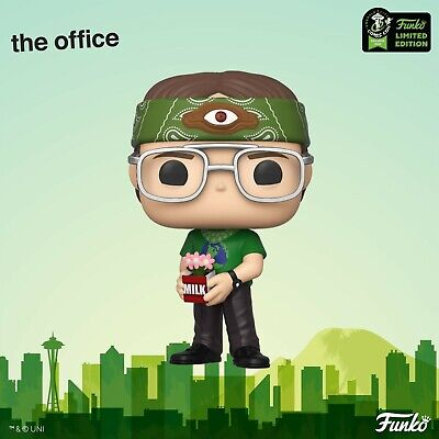 Funko ECCC 2020 The Office Dwight Schrute as Recyclops Shared Exclusive Preorder