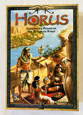 HORUS Ancient Egyptian Themed Strategy Game Mayfair Games No. 4101
