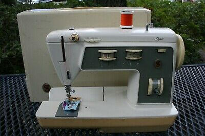 Singer Stylist Sewing Machine Zig-Zag Model 774 Heavy Duty Metal Manual Freearm