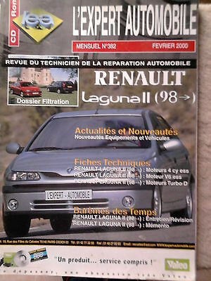 RENAULT Laguna 2 (98-00) - Revue technique L'Expert Automobile