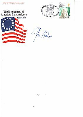 John Naber Olympic Gold Swimmer Hand Signed First Day Cover 1976
