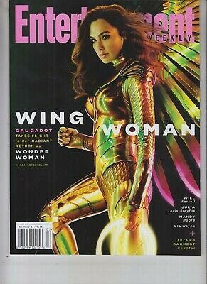 Gal Gadot Entertainment Weekly Magazine March 2020 Wonder Woman No Label