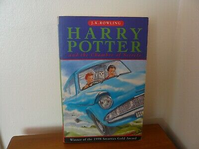 HARRY POTTER.PAPERBACK 1st EDITION AND THE CHAMBER OF SECRETS....