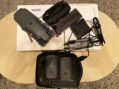 DJI Mavic Pro 4K Drone Fly More Combo Crashed but Working need repair M1P GL200A