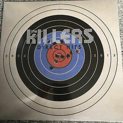 The Killers - Direct Hits - 2 x VINYL LP - Brand New & Sealed