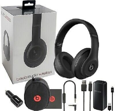 Beats Studio2 Wireless Noise Reduction Over-Ear Headphone - Black Sealed !