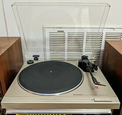 TURNTABLE PIONEER PL-2 W/ Audio Technica LS 100 Cartridge new belt