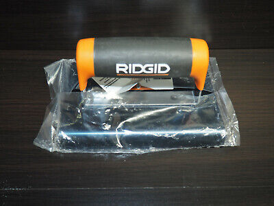 RIDGID 6 in. x 4 in. Blue Steel Edger