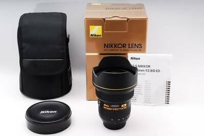 Nikon AF-S NIKKOR 14-24mm F2.8G ED Original Box lens Japan EXC++