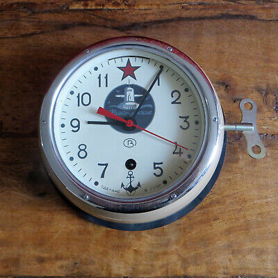 Submarine Clock Soviet Union CCCP USSR 5 Day Clock