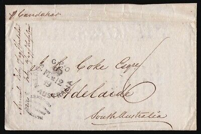 GREAT BRITAIN 1848 QV cover to Adelaide in South Australia !
