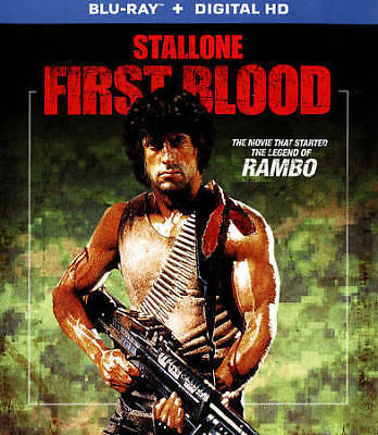 New! First Blood (1st Rambo) Blu-ray + Digital - OG Sylvester Stallone Crenna