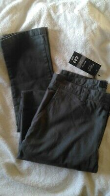 new next skinny fit trousers mens boys grey size 30r