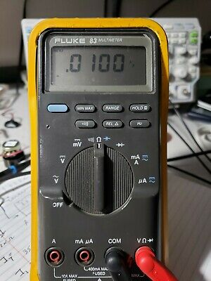Used FLUKE 83 Multimeter with original leads