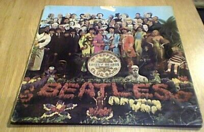 THE BEATLES SGT. PEPPER'S 1st Press Parlophone EMI Mono UK LP 1967 PMC 7027