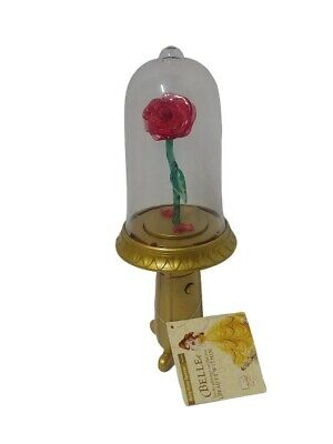 Disney Parks Light Beauty and the Beast Enchanted Rose Spinner NWT