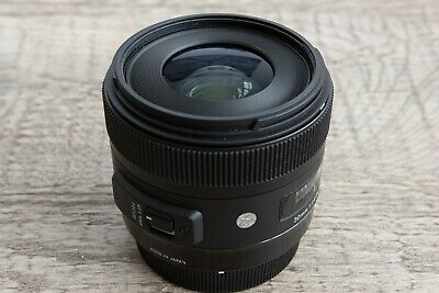 Sigma 30mm f/1.4 DC HSM ART Lens for Canon EOS DSLR Cameras. Used rarely, w hood