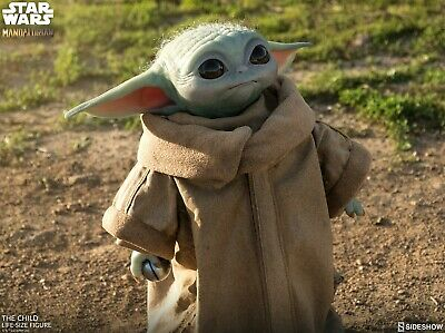 Confirmed Sideshow The Child baby Yoda Lifesize Star Wars Aug preorder