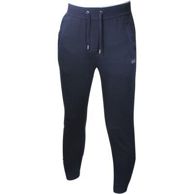 Hugo Boss Men's Authentic Dark Blue Piped Jersey Lounge Pants Sz: XL