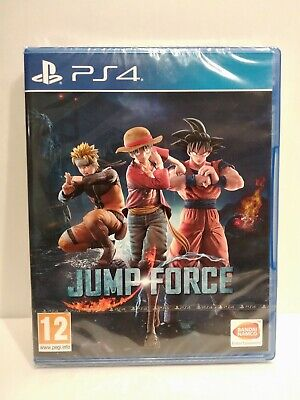JUMP FORCE - Jeu PS4 - Region Free - Français- Neuf / New & Sealed