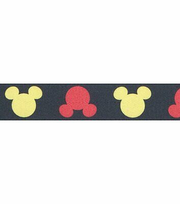"""Disney Mickey Mouse 1"""" Silhouette Band  216 yards 72 rolls"""