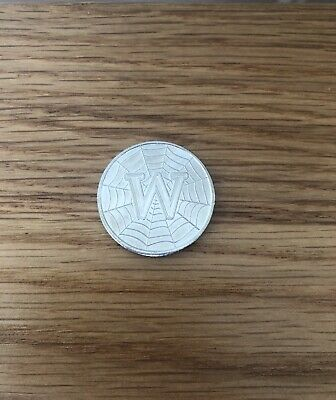 2018 A-Z 10p Coin Alphabet Letter W (World Wide Web) Circulated
