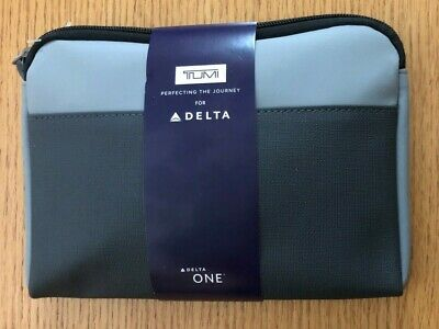 TUMI for Delta One 2019 Amenity Kit (NEW & SEALED)