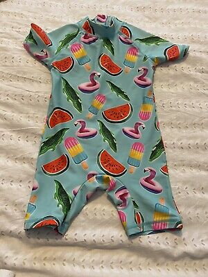 Baby Boys All In One Swimsuit. Age 18-24 Months. From Next