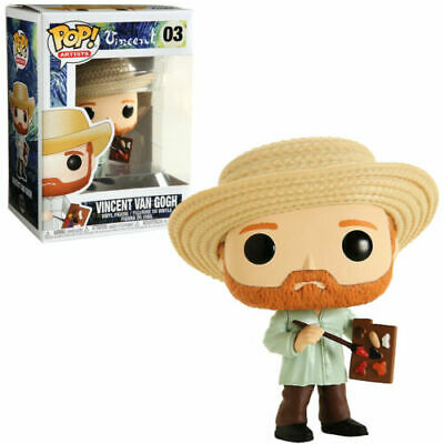 Vincent Van Gogh Artist Pop Vinyl Figure Funko New