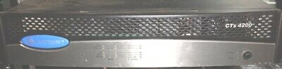 Crown CTs 4200 Four-channel, 260W Power Amp