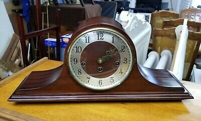 Gorgeous German Welby 8 Day Key Wind Westminster Chime Mantel Clock