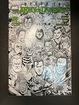 Death to Army of Darkness #1 1:7 Haeser B&W FOC Variant Dynamite NM Comics Book
