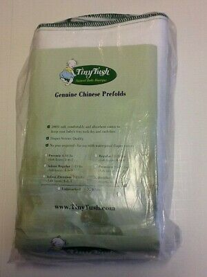 Tiny Tush Chinese Prefold Cloth Diapers