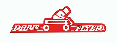 Radio Flyer Little Red Wagon Sticker Vinyl Decal 2-177RL
