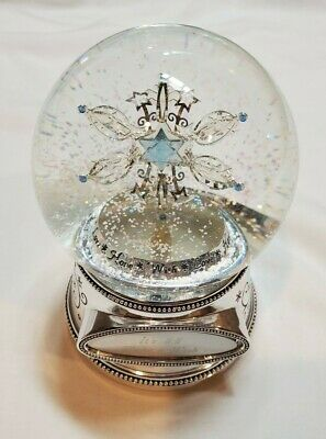 Things Remembered Light-Up Snow Globe Make-A-Wish 2007 Carol Of The Bells Music