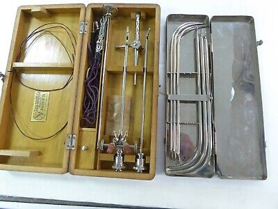 2 Sets SASS WOLF & Co Germany Berlin No.24 Medical Kit In Original Wooded Box